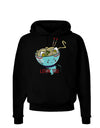 Matching Lovin You Blue Pho Bowl Dark Dark Hoodie Sweatshirt Black 3XL