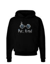 Pott Head Magic Glasses Dark Hoodie Sweatshirt