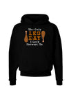 Leg Day - Turkey Leg Dark Hoodie Sweatshirt
