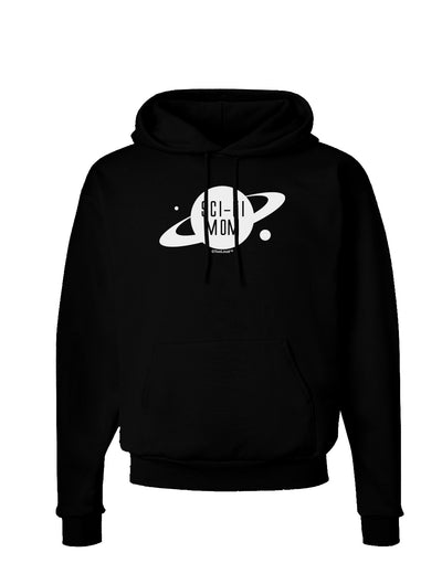 Sci-Fi Mom - Mother's Day Design Dark Hoodie Sweatshirt