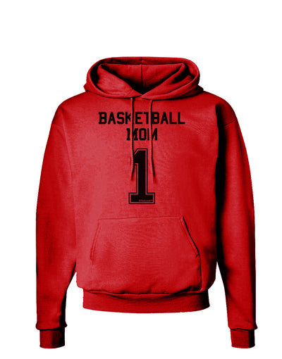 Basketball Mom Jersey Hoodie Sweatshirt