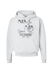 Personalized Mrs and Mrs Lesbian Wedding - Name- Established -Date- Design Hoodie Sweatshirt