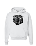 Autism Awareness - Cube B & W Hoodie Sweatshirt