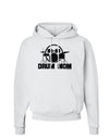 Drum Mom - Mother's Day Design Hoodie Sweatshirt