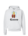 Queen Bee Text 2 Hoodie Sweatshirt