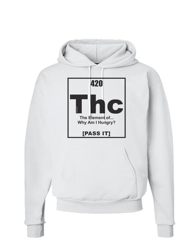 420 Element THC Funny Stoner Hoodie Sweatshirt  by TooLoud
