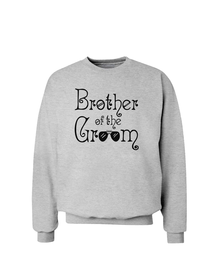 Brother of the Groom Sweatshirt White 3XL Tooloud