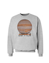 Planet Jupiter Earth Text Sweatshirt