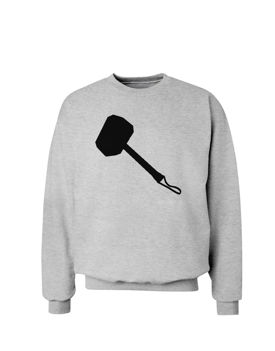 Thors Hammer Nordic Runes Lucky Odin Mjolnir Valhalla  Sweatshirt by TooLoud