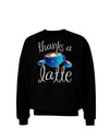 Thanks a Latte - Cute Mug Adult Dark Sweatshirt
