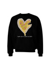 I gave you a Pizza my Heart Dark Adult Dark Sweatshirt Black 3XL Toolo