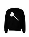 Thors Hammer Nordic Runes Lucky Odin Mjolnir Valhalla  Adult Dark Sweatshirt by TooLoud