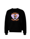 Adopt Don't Shop Cute Kitty Adult Dark Sweatshirt