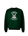 Happy Easter Everybunny Adult Dark Sweatshirt
