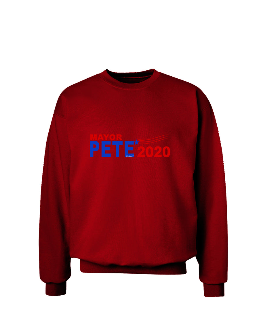 Mayor Pete 2020 President Adult Dark Sweatshirt by TooLoud
