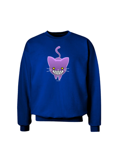 Evil Kitty Adult Dark Sweatshirt