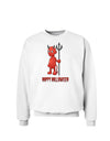 Cute Devil - Happy Halloween Design Sweatshirt