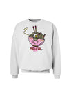Matching Pho Eva Pink Pho Bowl Sweatshirt White 3XL Tooloud