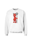 Cute Devil - Halloween Design Sweatshirt