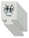 Pisces Symbol Can / Bottle Insulator Coolers