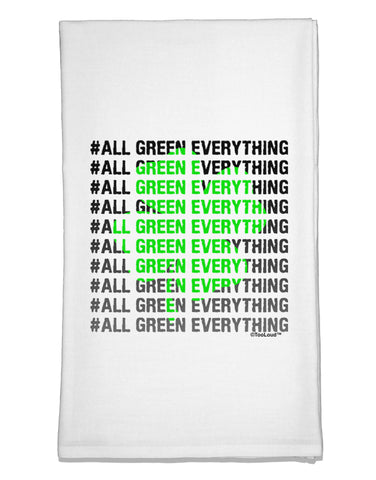 All Green Everything Clover Flour Sack Dish Towel