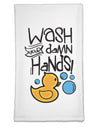 Wash your Damn Hands Flour Sack Dish Towel