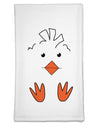 Cute Easter Chick Face Flour Sack Dish Towel