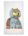 Doge to the Moon Flour Sack Dish Towel