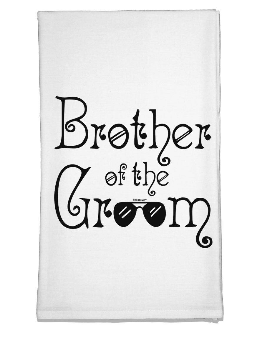Brother of the Groom Flour Sack Dish Towel