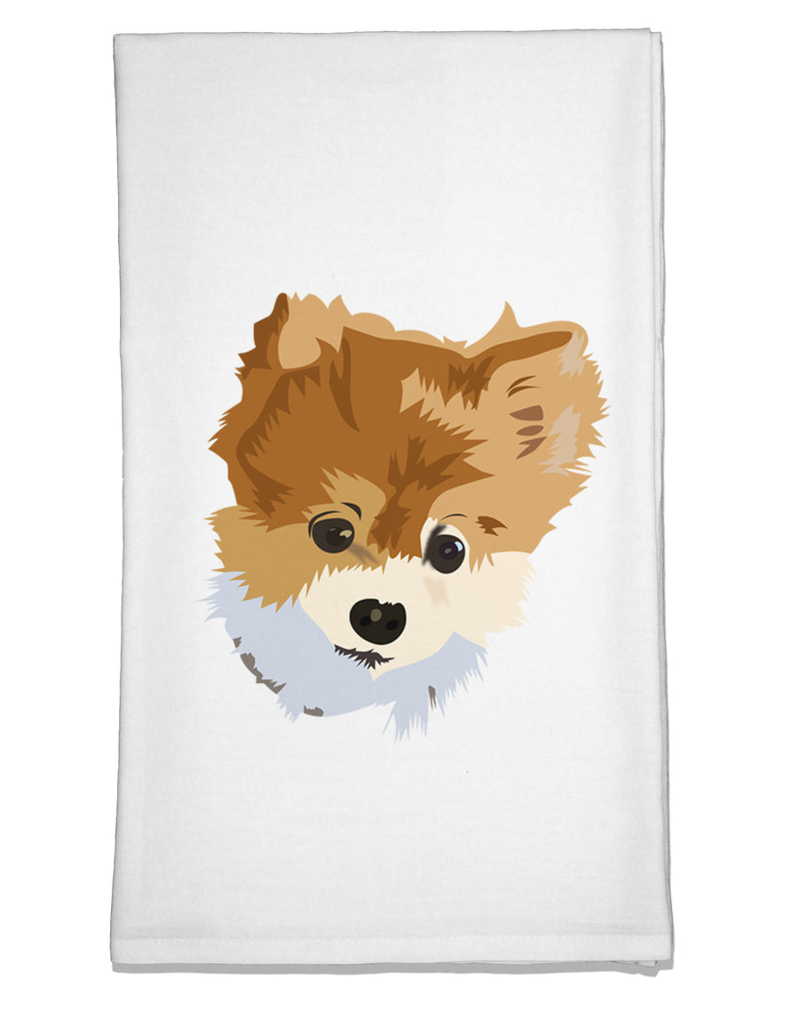 Custom Pet Art Flour Sack Dish Towel by TooLoud