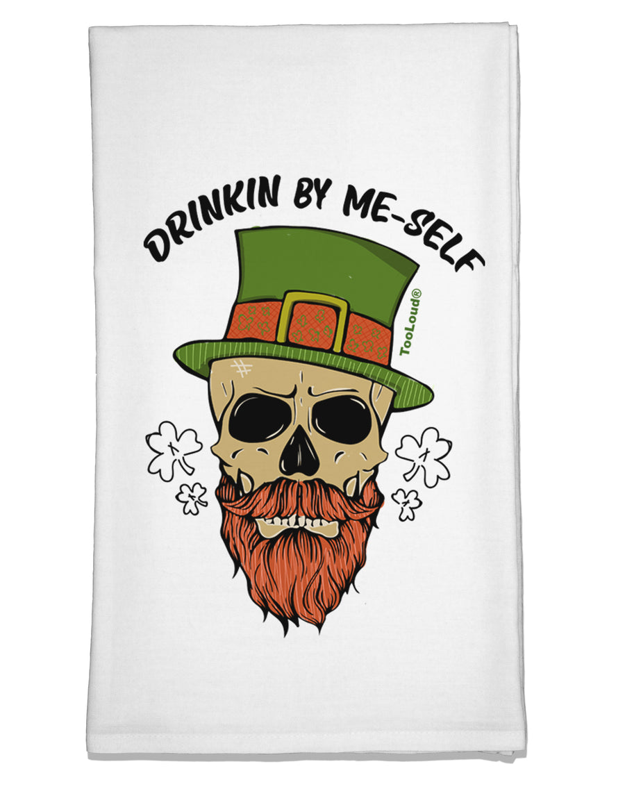 Drinking By Me-Self Flour Sack Dish Towel