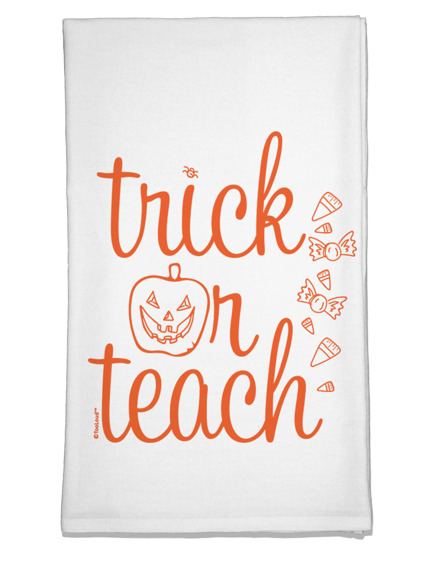 Trick or Teach Flour Sack Dish Towel