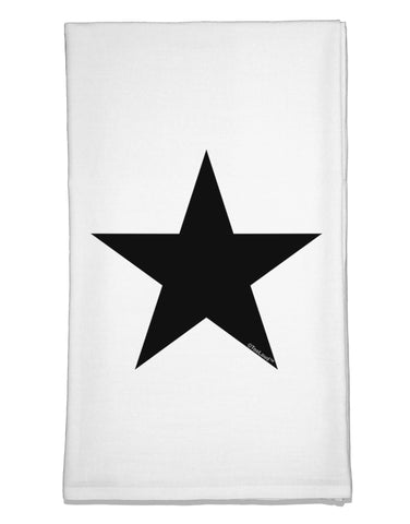 Black Star Flour Sack Dish Towel