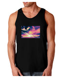 Blue Mesa Reservoir Surreal Dark Loose Tank Top