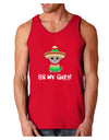 Oh My Gato - Cinco De Mayo Dark Loose Tank Top