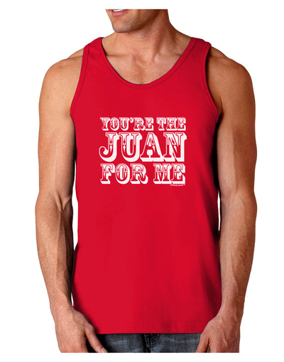 You Are the Juan For Me Dark Loose Tank Top