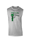 Peace Man Alien Muscle Shirt