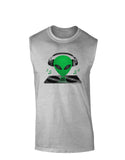 Alien DJ Muscle Shirt