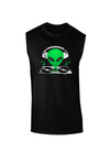 Alien DJ Dark Muscle Shirt