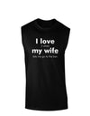 I Love My Wife - Bar Dark Muscle Shirt