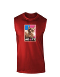 Adopt Cute Kitty Poster Dark Muscle Shirt