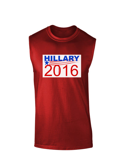 Hillary 2016 Dark Muscle Shirt