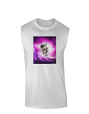 Astronaut Cat Muscle Shirt