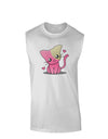 Kawaii Kitty Muscle Shirt