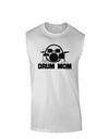 Drum Mom - Mother's Day Design Muscle Shirt