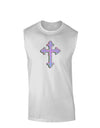 Easter Color Cross Muscle Shirt