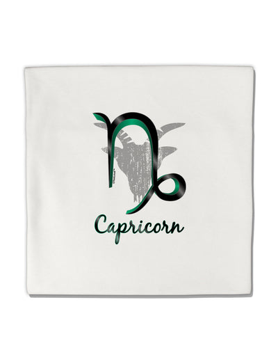 "Capricorn Symbol Micro Fleece 14""x14"" Pillow Sham"