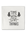 TooLoud Time to Give Thanks Micro Fleece 14 Inch x 14 Inch Pillow Sham