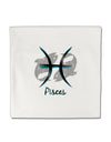 "Pisces Symbol Micro Fleece 14""x14"" Pillow Sham"