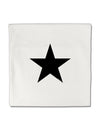 "TooLoud Black Star Micro Fleece 14""x14"" Pillow Sham"